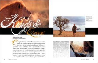 Zoology Magazine Spread 1
