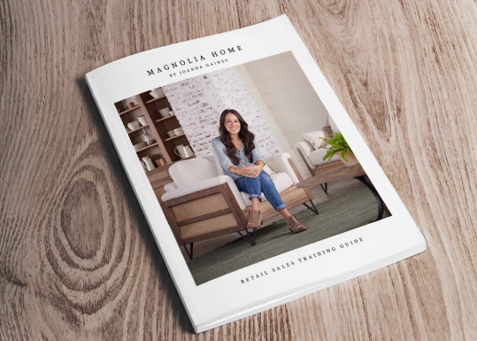 Magnolia Home by Joanna Gaines Retail Sales Training Guide