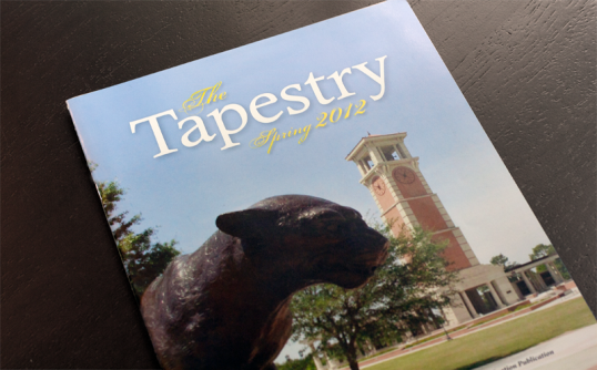 The Tapestry Graduation Publication (Designed Multiple Years)