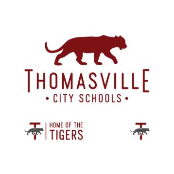 Thomasville City Schools Logo 2