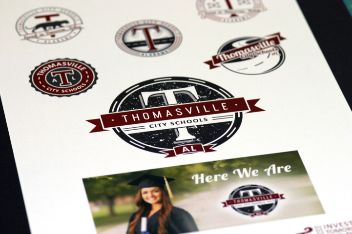 Thomasville City Schools Rebrand 1