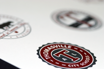 Thomasville City Schools Rebrand 2