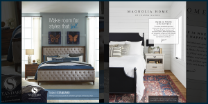 Standard Furniture and Magnolia Home National Ads